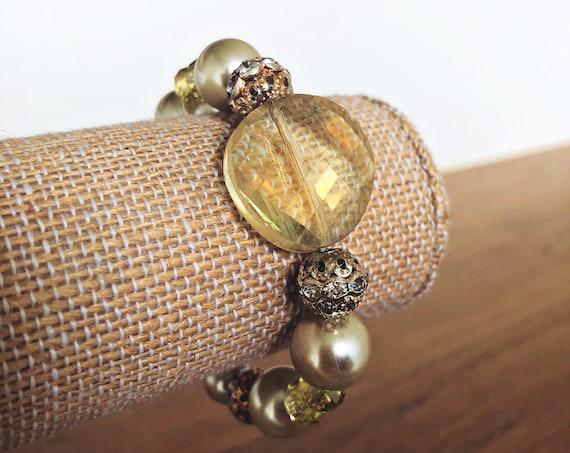 Bold in Gold Bracelet