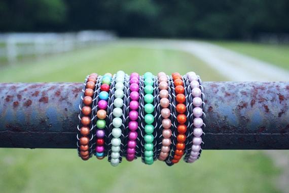 Unisex Illuminating Skinny Wrap Bracelets