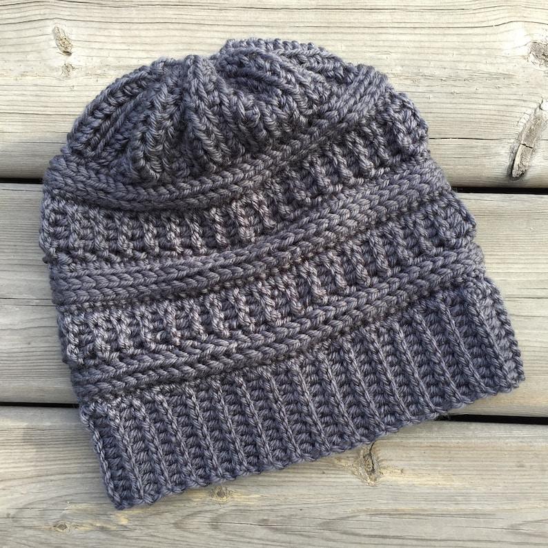 ed0e8ff6f05 CROCHET HAT PATTERN  Columbia Glacier Beanie Crochet