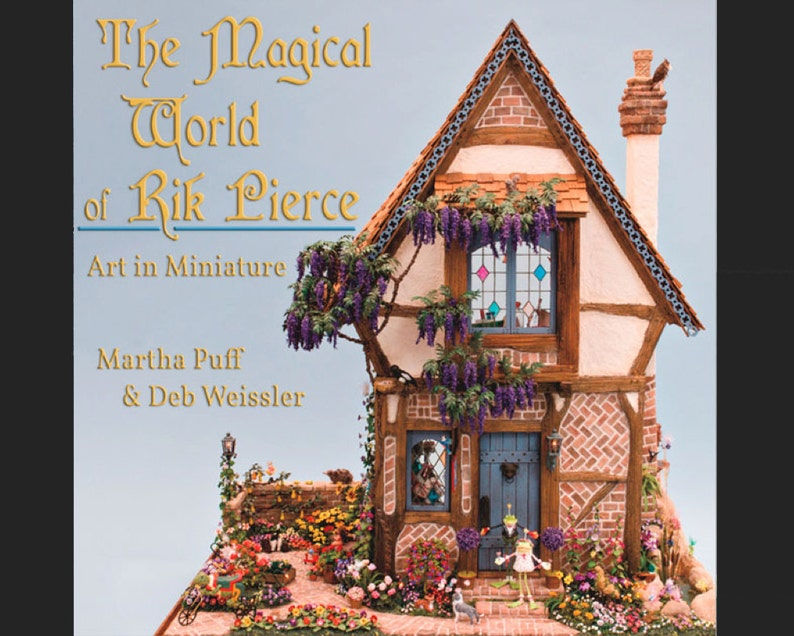 0002  BOOK  The Magical World of Rik Pierce  Dollhouse Book image 0