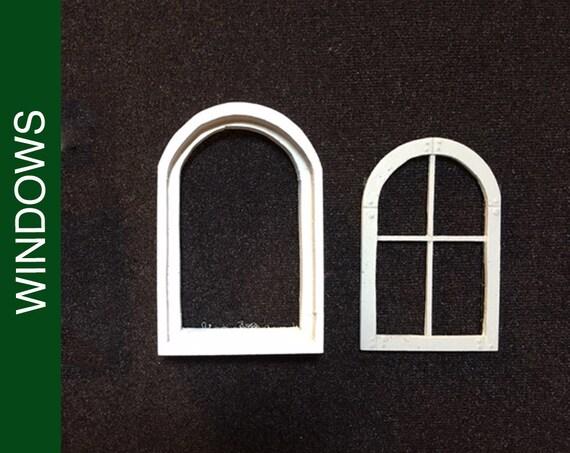 La Dollhouse MeneauxAccessoires Sm Fenêtre 003 Et Maison Cadre Maisons Haut Poupée De Appareils Ronde Avec NOym0P8wvn