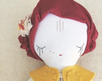 Miss Vintage Floral Red