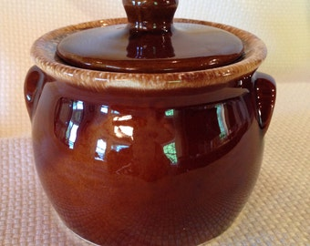 Vintage Hull Sugar Bowl