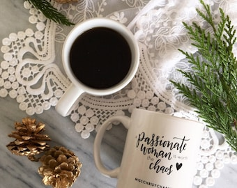 A Passionate Woman mug