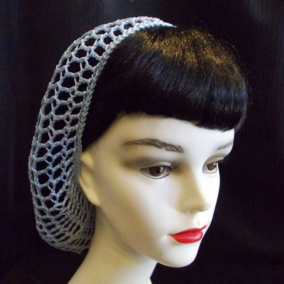 Crochet hair snood