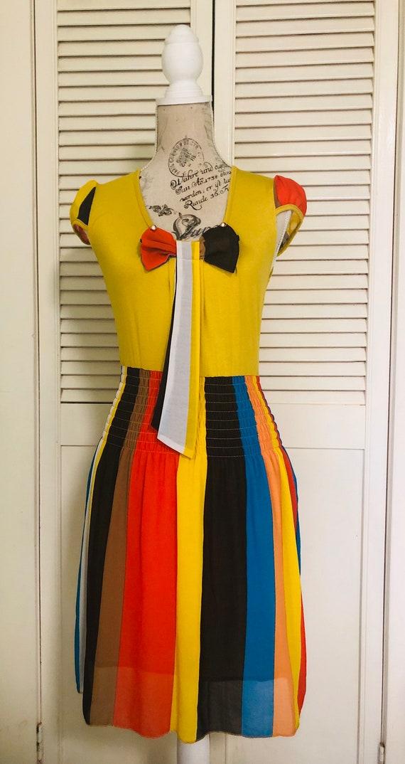Multicoloured minidress