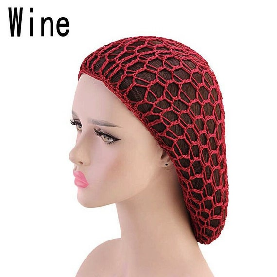 Crochet hair snood - image 6