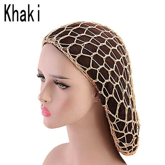 Crochet hair snood - image 5