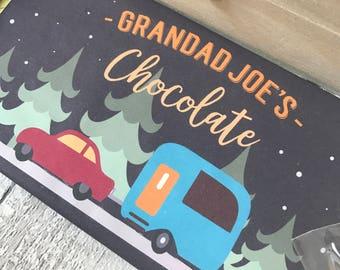 Personalised Christmas Chocolate Bar Stocking Filler