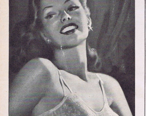 Old 1947 Formit Women's Life-Bra Ad