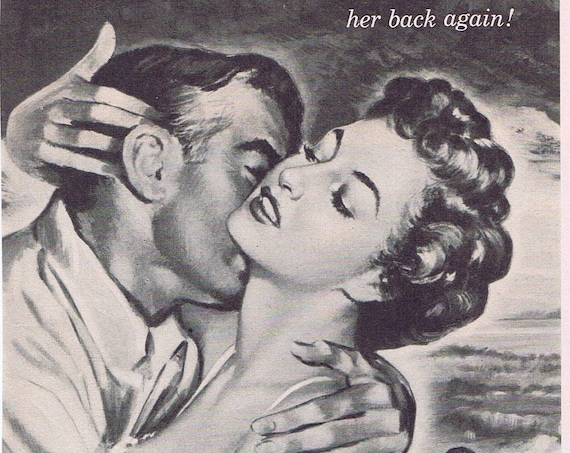 Barbara Stanwyck in All I Desire 1953 Original Vintage Movie Advertisement with Richard Carlson