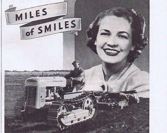 1940 Timken Tapered Roller Bearings  Original Vintage Farm Advertisement