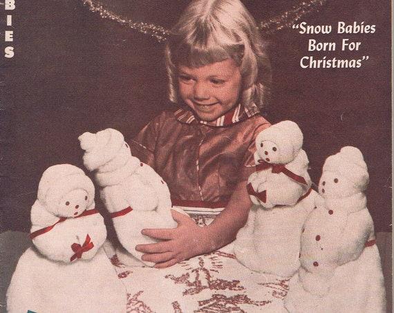 Profitable Hobbies September 1953 Vintage Magazine Dolls Born on a Loom