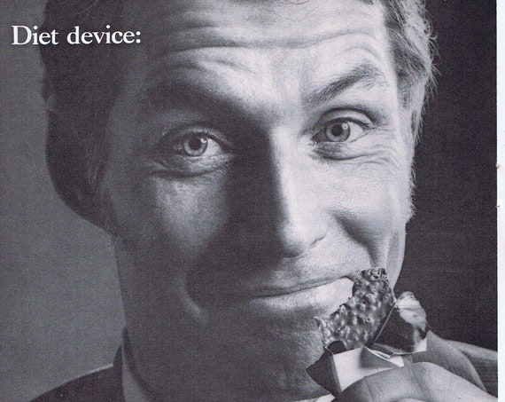 1971 Sugar's Quick Energy Diet Device Original Vintage Advertisement Interesting Information