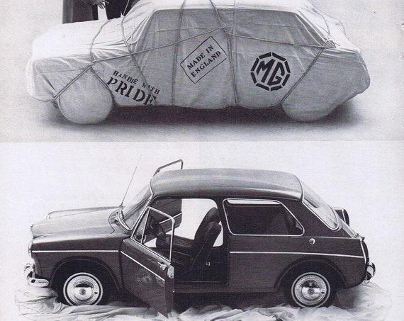 1964 MG Sports Sedan Original Vintage Automobile Advertisement