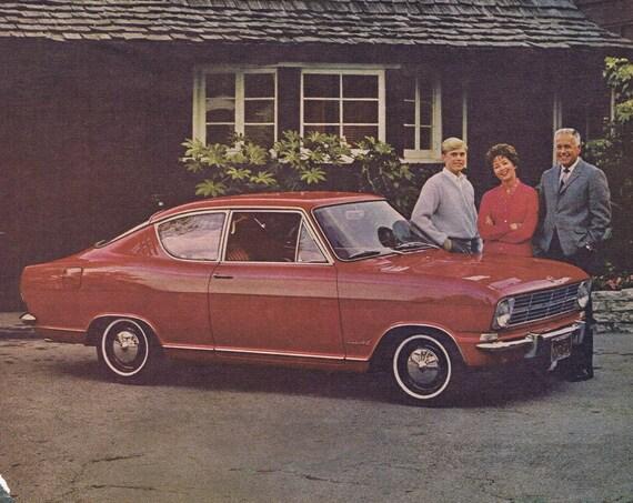 1967 Buick Opal Kadett Old Car Original Vintage Advertisement