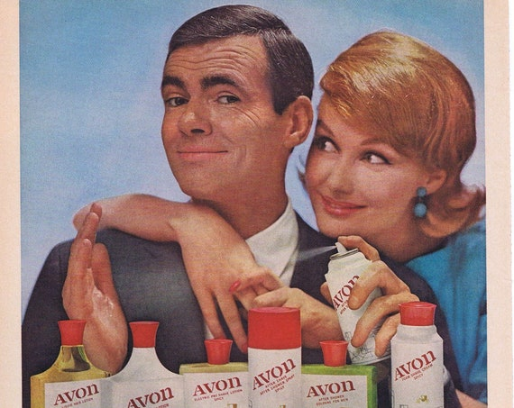 Old Avon for Men Husband and Wife