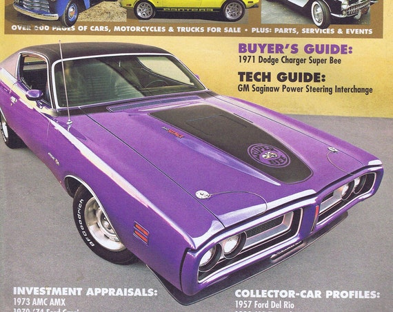 Hemmings Motor News Magazine May 2007 Dodge Charger 1971 Super Bee Photo Cover Free Shipping