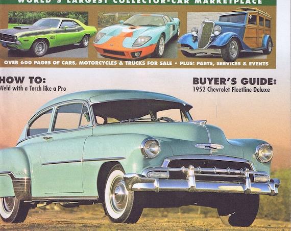 1952 Chevrolet Fleetline Deluxe Photo Cover Hemmings Motor News Magazine June 2007 Free Shipping