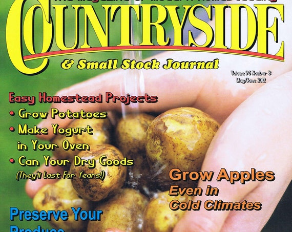 Countryside and Small Stock Journal May/June 2012 Magazine New and Unread
