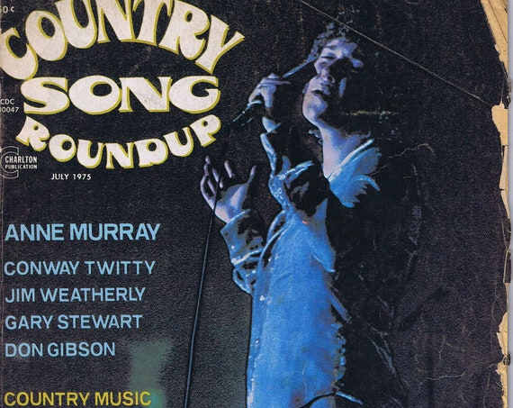 Country Song Roundup July 1975 Magazine Neat Stars and Features
