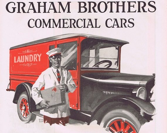 Dodge Graham Brothers Commercial Trucks and Cars 1927 Old Advertisement