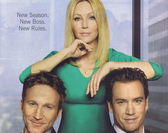 Franklin & Bash TNT Series with Breckin Meyer, Mark-Paul Gosselaar and Heather Locklear 2013 New Season Advertisement