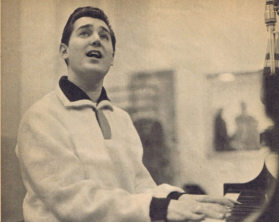 Neil Sedaka Rock and Roll Maestro 1960 Magazine Pictures and Feature Story Family Pictures