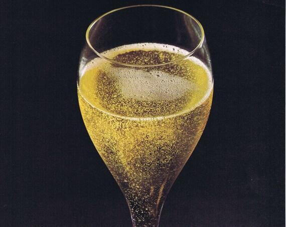 1975 Almaden California Champagne Blanc de Blancs, Brut, Extra Dry Original Vintage Advertisement