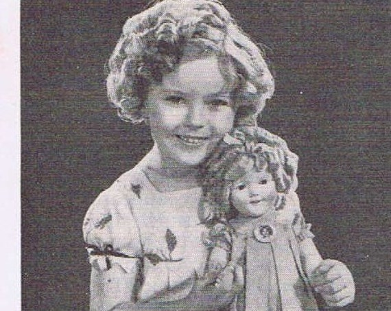 1936 Shirley Temple Doll Original Vintage Advertisement Ladies' Home Journal Special Offer Free Shipping