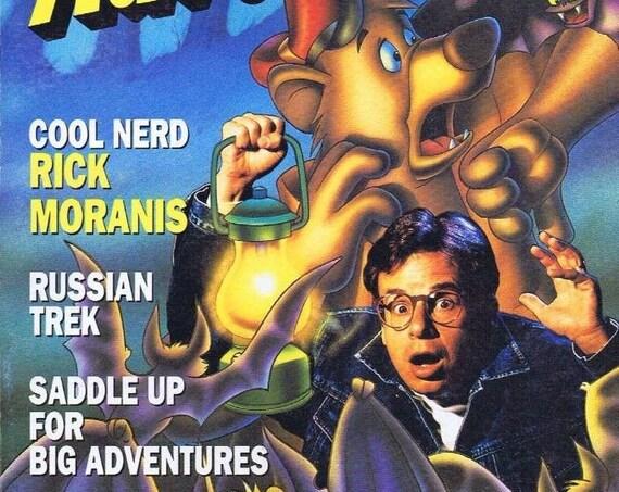 1st Issue Disney Adventure Magazine Nov 12 1990 Rick Moranis Cover High Grade  Premiere Issue