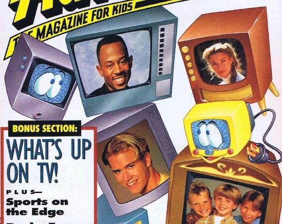Disney Adventure Magazine Oct. 1993 TV Sitcoms Martin Lawrence Home Improvement