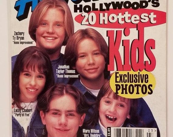 Disney Adventures Magazine Mar. 1996 Hollywood's 20 Hottest Kids Cover Photos