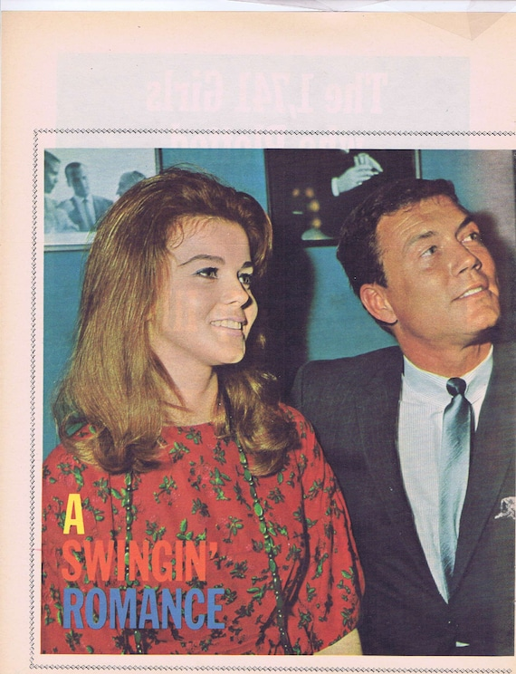 Ann Margaret and Roger Smith Swinging Romance 1965 movie star color picture