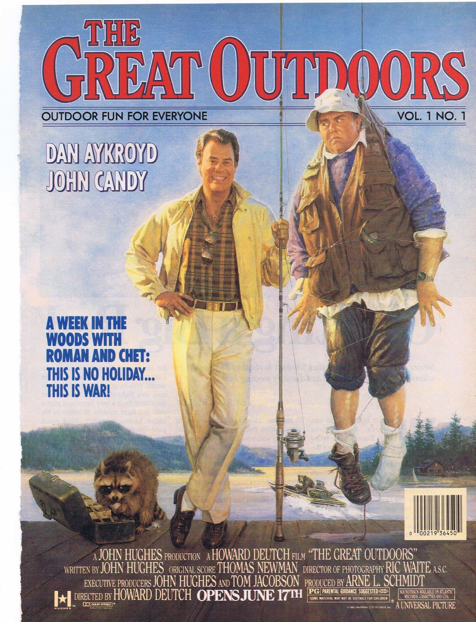 The Great Outdoors 1988 Original Movie Advertisement with ...