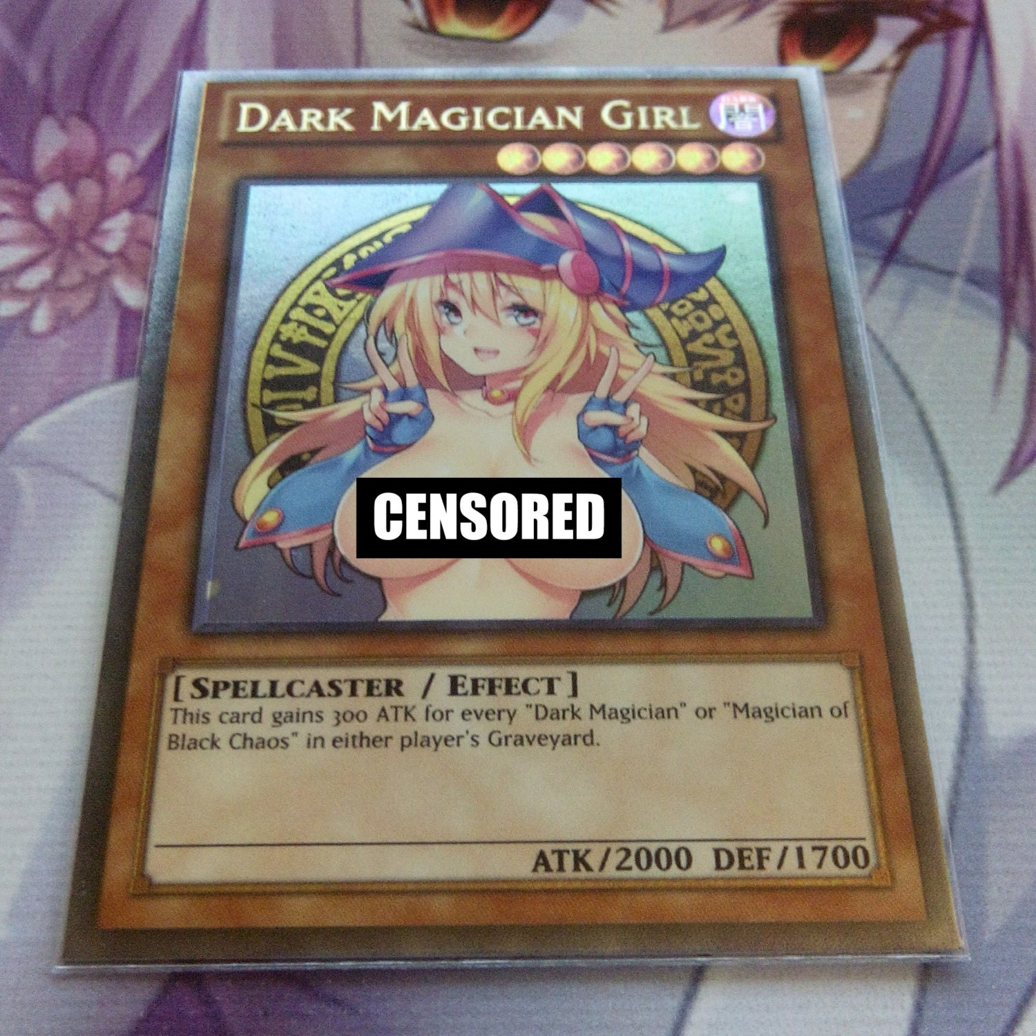 sexy dark magition girl