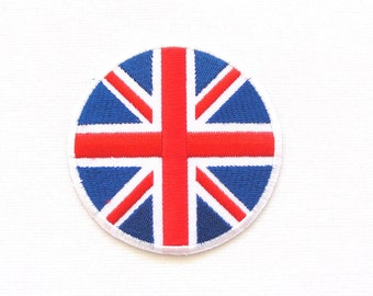 British Flag patch