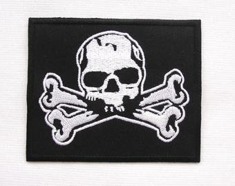 skull and bones  patch