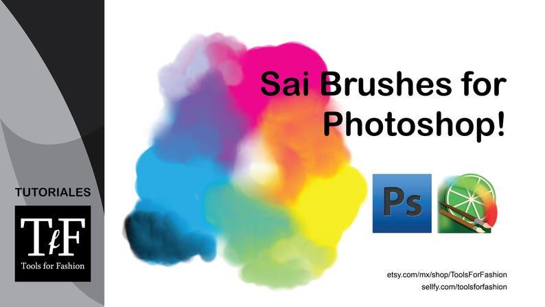 Paint Tool ups Style Photoshop brushes