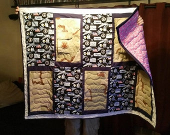 Uniform Quilt : Any uniform can be used! Army, Air Force, Marine, Navy, Coast Guard, Police, Food Service, etc