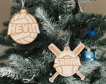 DECO Mini Sign Team Gift Favor Girls Softball Everyday Wood Ornament Decoration