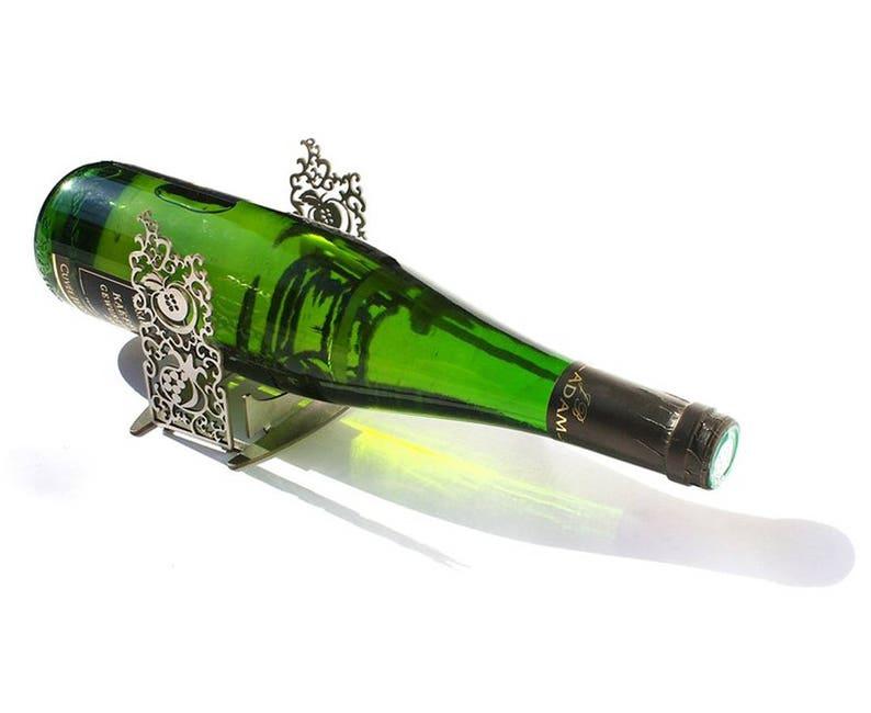 9c63d9482c Wine Bottle Holder Wine Bottle Stand Wine Holder Bottle   Etsy