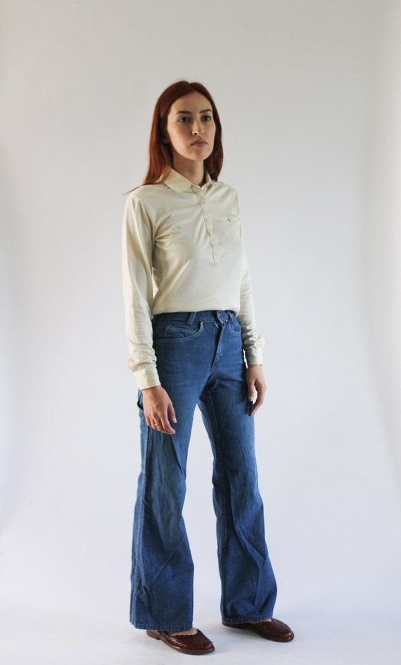 Vintage 1970s Carpenter Jeans | 70s Jeans | Denim