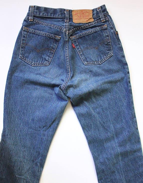Vintage Levis 501 Denim Jeans 24 | High Waist Lev… - image 7