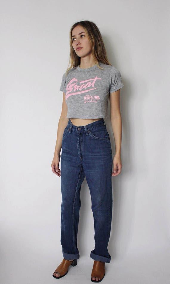 Vintage 1970s Levi's Denim Jeans 24 | Levis High … - image 2