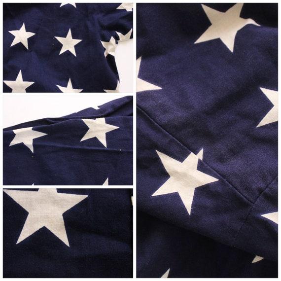 Vintage 1990s USA Shirt   Star Top   Star Button … - image 10
