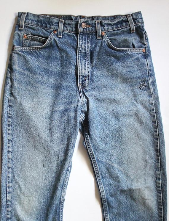 Jeans 505 Denim Vintage Denim Distressed Waist Jeans Denim Levis 29 Levis 505 Jeans High Levi's 505 Jeans Levis rzxYwz7vpq