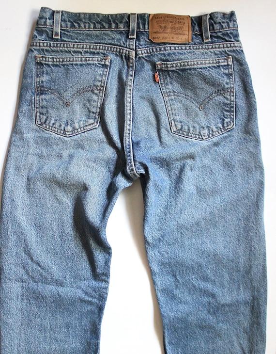 Denim Levis Jeans 505 Jeans Distressed 29 Levi's Denim Jeans 505 505 High Vintage Jeans Levis Levis Denim Waist XvzxpCwZqn
