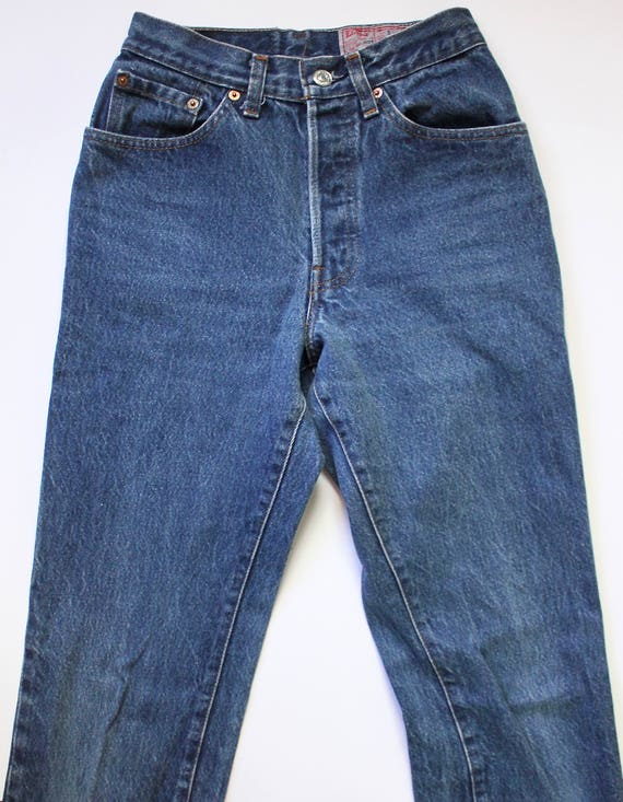 Vintage Levis 501 Denim Jeans 24 | High Waist Lev… - image 6
