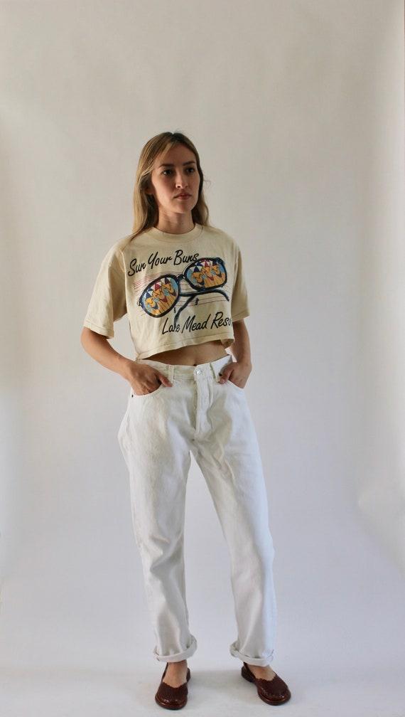 Vintage Levis 501 White Denim Jeans 29 | 501 Jeans
